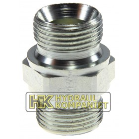 Straight connector male-male