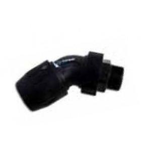 Male stud 45° elbow