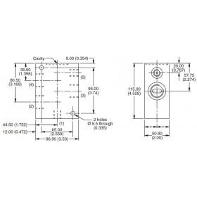 5-ports manifold