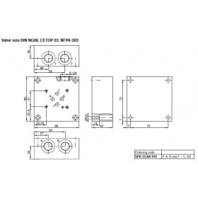 Mounting Plate NG06 1 Section