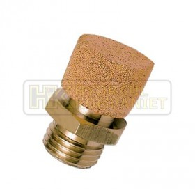 """Flow Control Silencer, Male – 1/8"""" BSPP"""