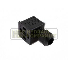 Black connector dean IP67 AC max.250V - DC max 300V