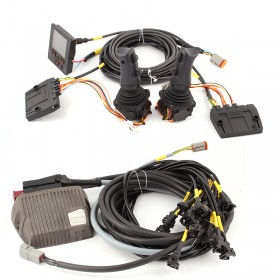Electric control system w. 8 functions