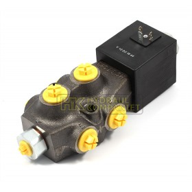 Selector valve 6-way 1/2