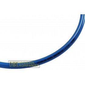 Pipe, Polyurethane 4mm blue