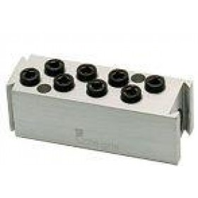 Manifold with 8pce 4mm Push-In Couplings