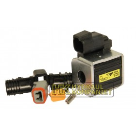 Solenoid By-pass for 13mm Rod 24VDC