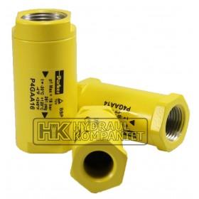 Hose ruptor valve G1/2 int.-int.